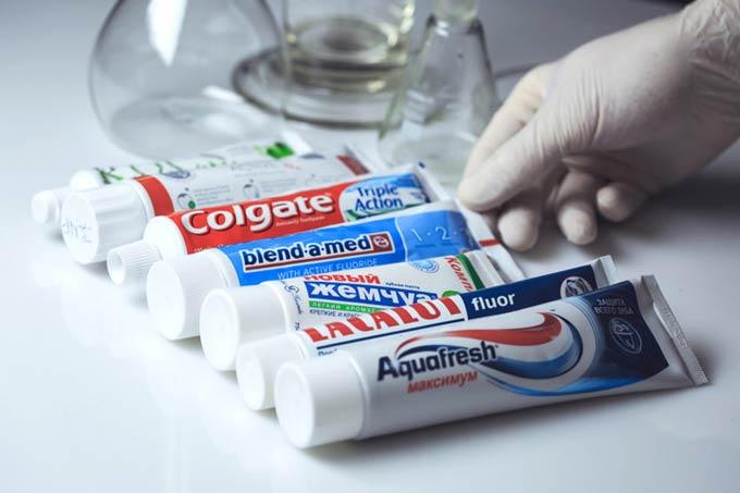 टूथपेस्ट की विविधता